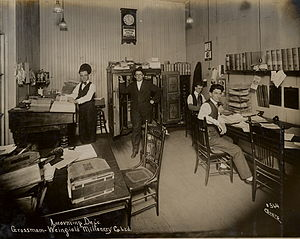 Accounting Department, Grossman-Weinfield Mill...